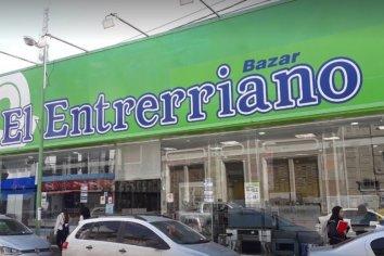 """Cerró una nueva sucursal de Bazar """"El Entrerriano"""""""