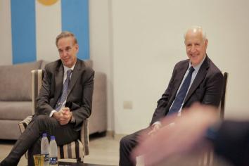 """Lavagna no descartó a Pichetto como vicepresidente y el senador dijo que """"sería un honor"""""""