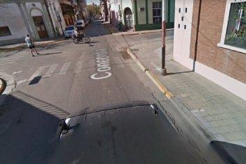VIDEO | Intento fallido de arrebato en pleno centro de Paraná