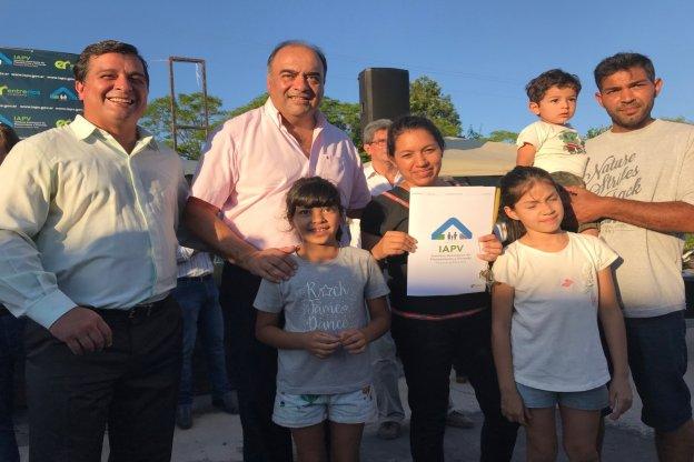 Con fondos provinciales se construirán nuevas  viviendas en Estación Las Moscas