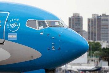 Aerolíneas Argentinas confirmó 9 vuelos especiales