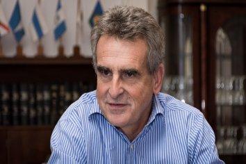 Agustín Rossi bajó su precandidatura a presidente