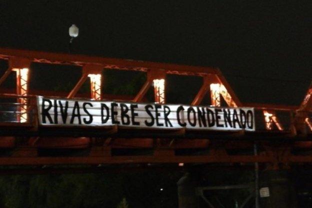 Piden públicamente la condena a Gustavo Rivas