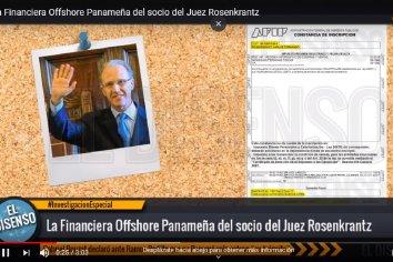 La Financiera Offshore Panameña del socio del Juez Rosenkrantz