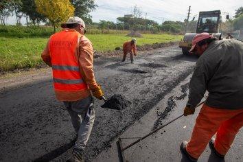 El gobierno municipal amplió plan de obras de reasfaltado de calles