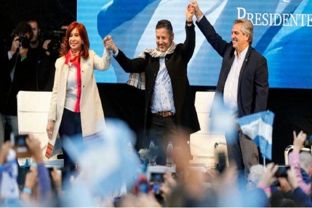 """Alberto Fernández a la militancia: """"Les pido que vayan a convencer a los argentinos que creyeron y los defraudaron"""""""
