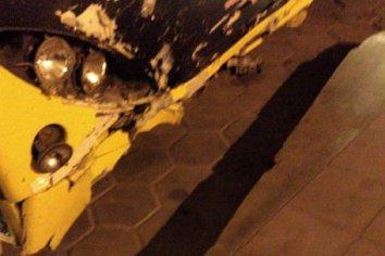 Violento choque entre un colectivo y un automovil: un muertos y dos heridos