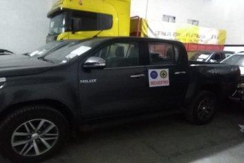 La policía de Entre Ríos secuestró 12 vehículos de alta gama