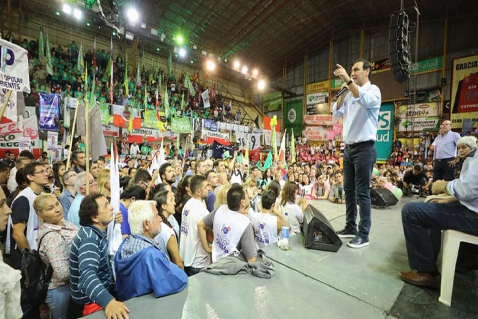 Gustavo Valdés en campaña