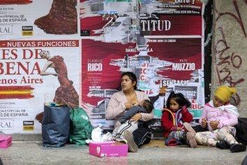 La pobreza subió al 40,9% en el primer semestre del año