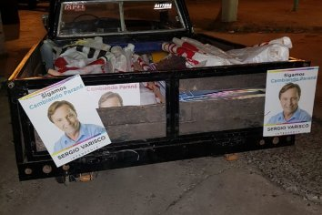 Ya estarían identificados los 13 demorados por vandalismo en la carteleria pública