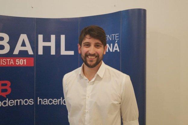 """Santiago Halle: """"Estamos contentos porque ha votado mucha gente en la ciudad y en la provincia"""""""