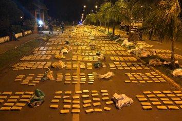 """Operación """"Marihuana Acampada"""": incautamos más de 3.600 kilos de droga en Misiones"""