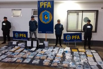 Policía Federal desarticuló banda narco