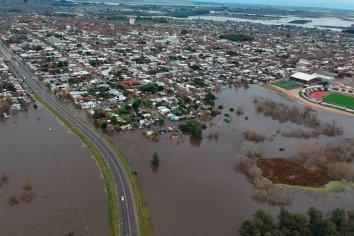 Inundaciones  en Uruguay: más de 2.500 personas debieron ser evacuadas por las intensas lluvias