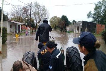 """Desde Defenza Civil informaron que las inundaciones """"son una situación controlada y con el seguimiento necesario"""""""