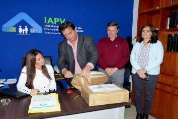 Dos oferentes para construir viviendas con recursos provinciales en Villa del Rosario