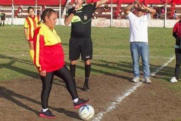 La abuela futbolista es furor en Entre Ríos