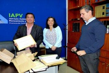 Una empresa presentó propuesta económica para construir viviendas en Valle María