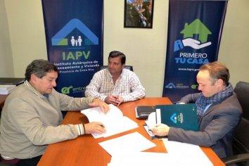 La provincia iniciará  la construcción de nuevas viviendas en Villaguay