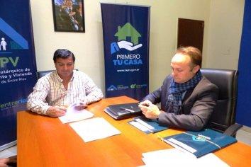 La provincia financiará la construcción  de nuevas viviendas en Villa del Rosario