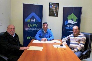 La provincia trabaja en soluciones habitacionales para Santa Anita