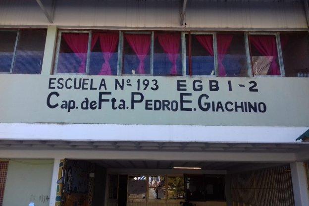 Obras en la Escuela Giachino