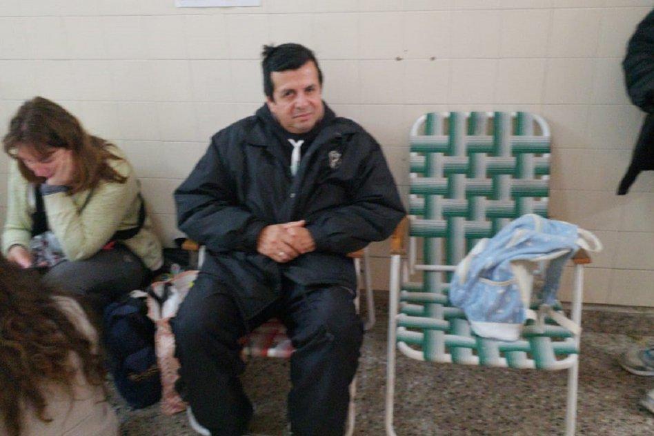 Los padres de Ismael en el Hospital San Martín