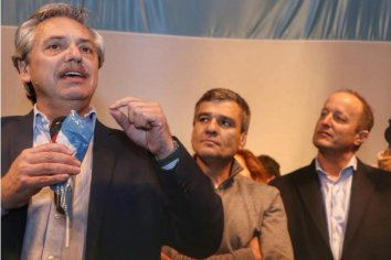 """Alberto Fernández: """"Para dividir está Macri"""""""