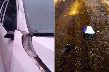 Encontraron la camioneta con la que chocaron y abandonaron a Ismael Montero en el Acceso Norte