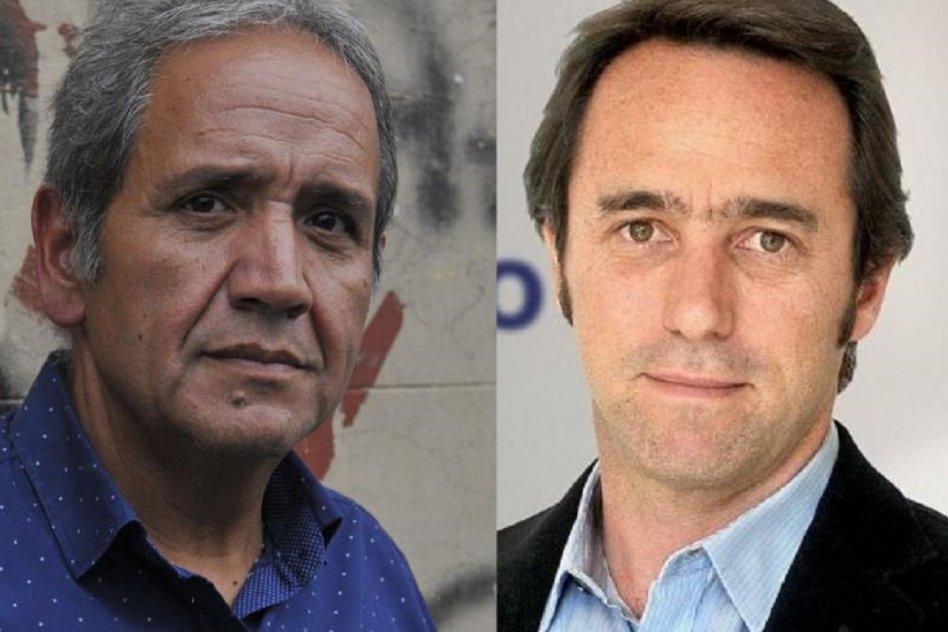 Sergio Palazzo  y Marcos Galperín