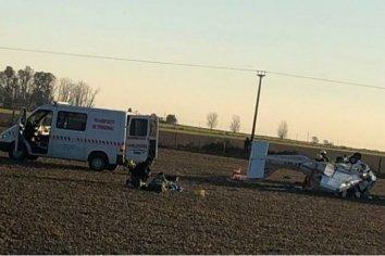 A poco de haber despegado, una avioneta cayó en una zona rural