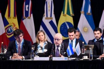 """Faurie destacó el """"esfuerzo negociador de la Argentina y Macri"""" en el acuerdo Mercosur-UE"""