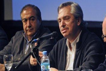 """Daer: """"El 99% de los sindicatos apoya a Alberto Fernández, pero respetamos a quienes están con Lavagna"""""""