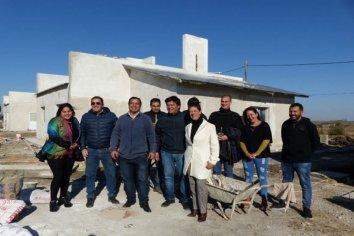 Tienen más del 70% las viviendas que se construyen en Seguí con fondos provinciales