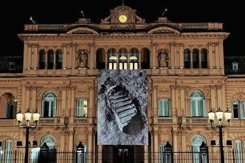 Casa Rosada conmemora el día que el hombre pisó la Luna