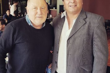 Jorge Busti brindo su apoyo a Marcelo Casaretto
