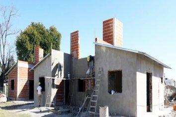 Está en marcha la obra de 10 viviendas en Ceibas