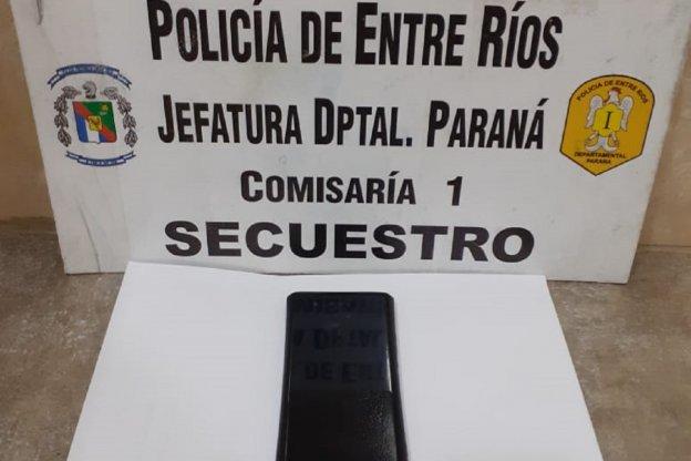 Recuperaron un celular que había sido sustraído en un comercio