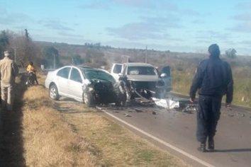 Accidente fatal en la Ruta 11, una persona fallecida y 3 heridos