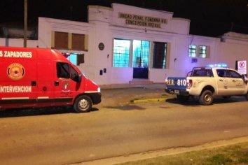 Incendio en la Cárcel de mujeres de Paraná