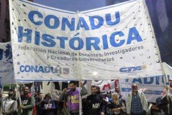 CONADU Histórica se declaró en estado de alerta