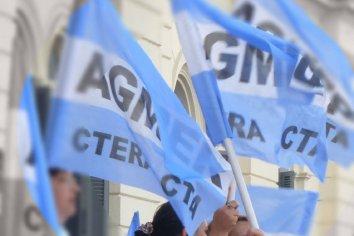 """Agmer cargó contra el gobierno de Macri y se declaró en """"estado de alerta permanente"""""""