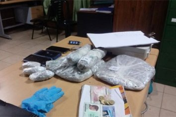 Procedimientos de Gendarmería por narcomenudeo