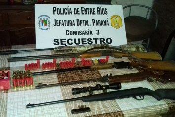 Allanaron una vivienda por Violencia de genero y hallaron armas