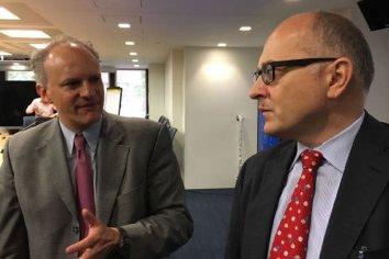 Hernán Lacunza mostrará a Werner y a Cardarelli que se cumplirán las metas fiscales