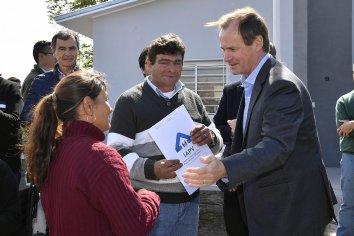 Bordet afirmó que profundizará la política de construcción de viviendas