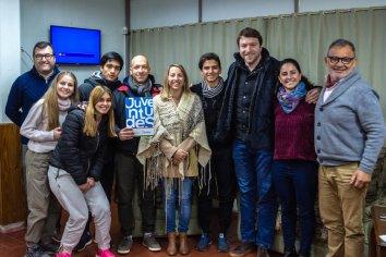 El gobierno provincial fortalece a los centros de estudiantes de escuelas entrerrianas