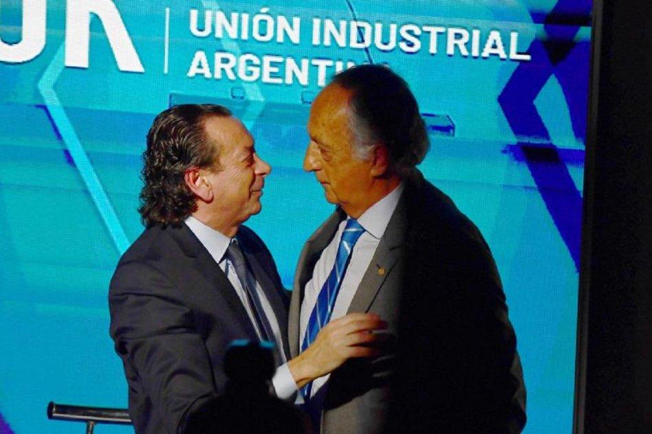 Dante Sica y Miguel Acevedo en la UIA