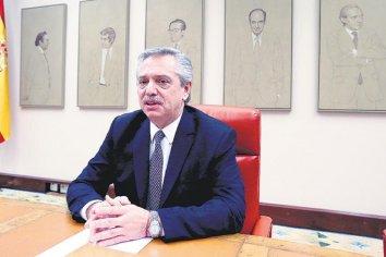 """Alberto Fernández: """"No somos marginales en el mundo planteando locuras"""""""